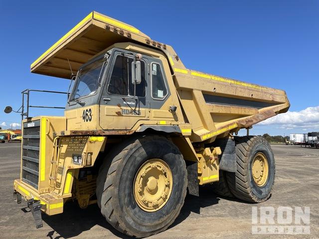 1992 Komatsu HD465-5 Off-Road End Dump Truck, Rock Truck