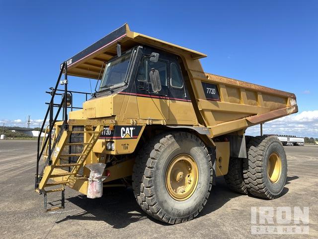 2000 Cat 773D Off-Road End Dump Truck, Rock Truck