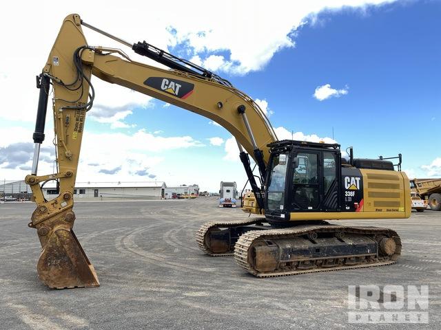 2016 Cat 336F L XE Hybrid Track Excavator, Hydraulic Excavator