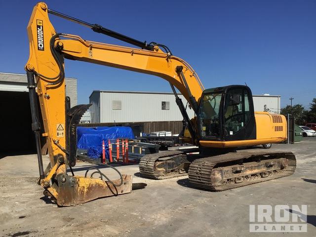 2011 JCB JS220LC Track Excavator, Hydraulic Excavator