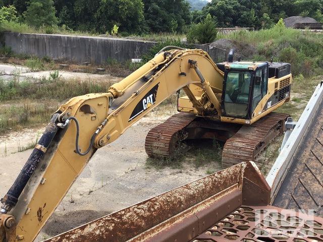 2007 Cat 345CL Track Excavator, Hydraulic Excavator