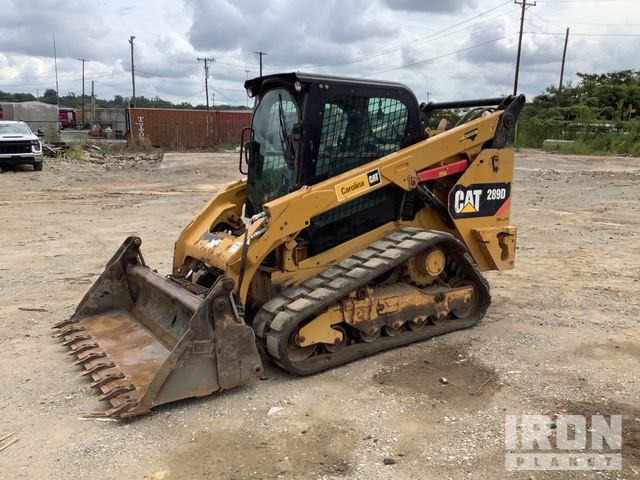 2014 Cat 289D Two-Speed Compact Track Loader, Compact Track Loader