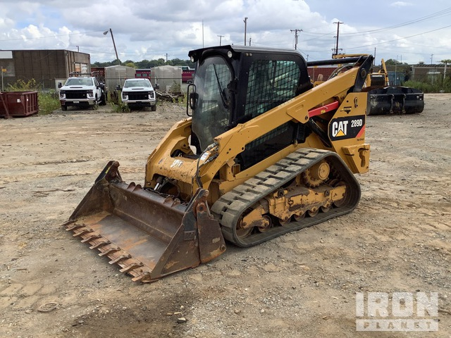 2015 Cat 289D Two-Speed Compact Track Loader, Compact Track Loader