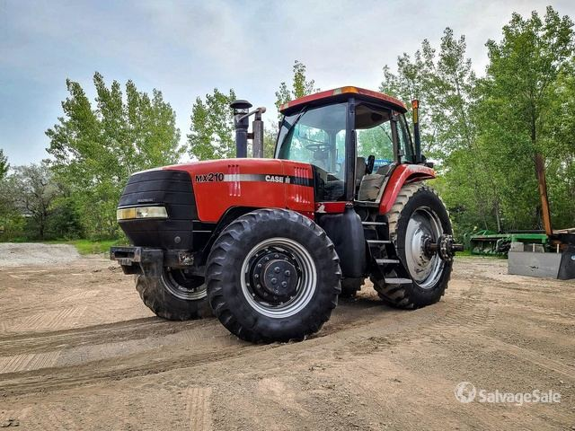2005 Case IH MX 210 4WD Tractor, MFWD Tractor