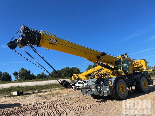 2017 (unverified) Grove RT770E 70 ton 4x4 Rough Terrain Crane, Rough Terrain Crane