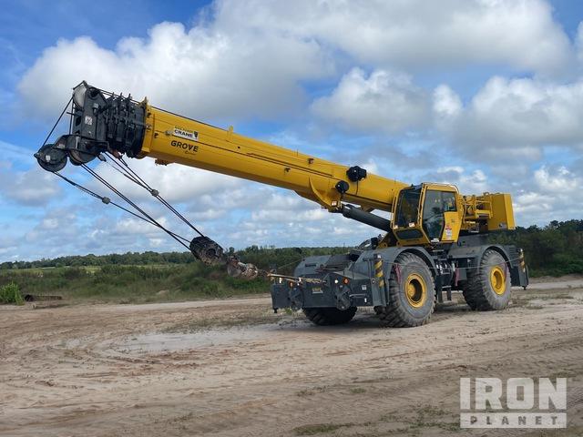 2015 Grove RT770E 70 ton 4x4 Rough Terrain Crane, Rough Terrain Crane