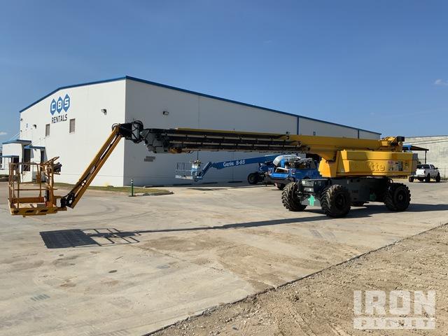 2015 Haulotte HB135JRT 4WD Diesel Telescopic Boom Lift, Boom Lift