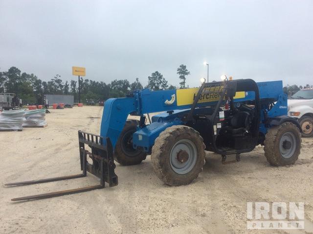 2014 Genie GTH844 Telehandler, Telescopic Forklift