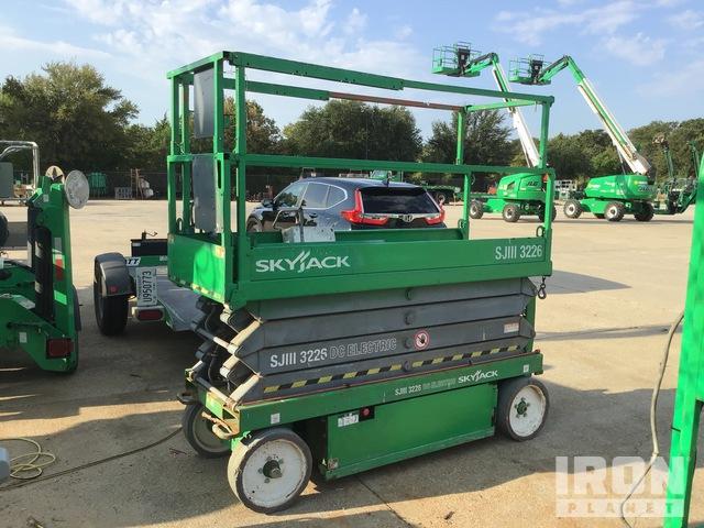 2013 Skyjack SJIII 3226 Electric Scissor Lift, Parts/Stationary Construction-Other