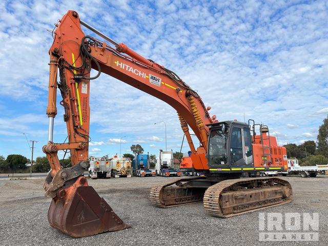 2012 Hitachi ZX470LCH-3 Track Excavator, Hydraulic Excavator
