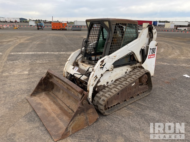2006 Bobcat T190 Two-Speed High Flow Compact Track Loader, Compact Track Loader
