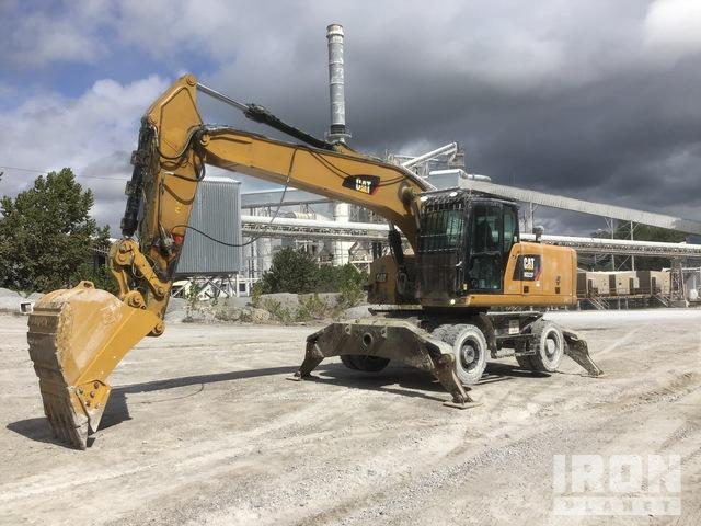 2018 Cat M322F Wheel Excavator, Mobile Excavator
