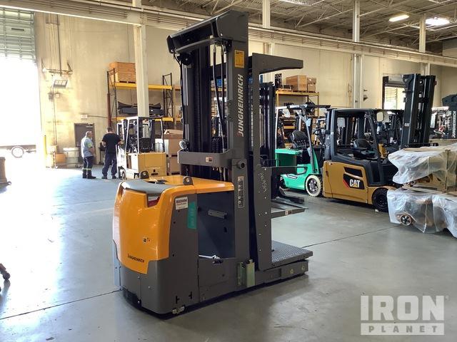 2018 Jungheinrich EKS314 3000 lb Order Picker, Electric Forklift