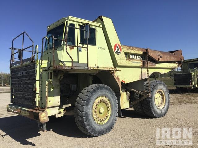 2000 Euclid R40C Off-Road End Dump Truck, Rock Truck