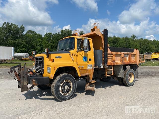 1992 Ford LN8000 4x2 S/A Dump Truck, Dump Truck (S/A)