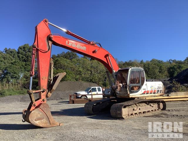 1992 Link-Belt 210LX Track Excavator, Hydraulic Excavator
