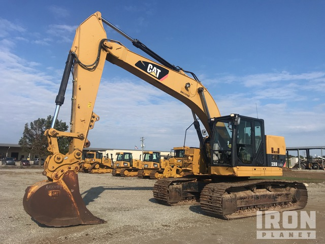 2014 Cat 328D L CR Track Excavator, Hydraulic Excavator