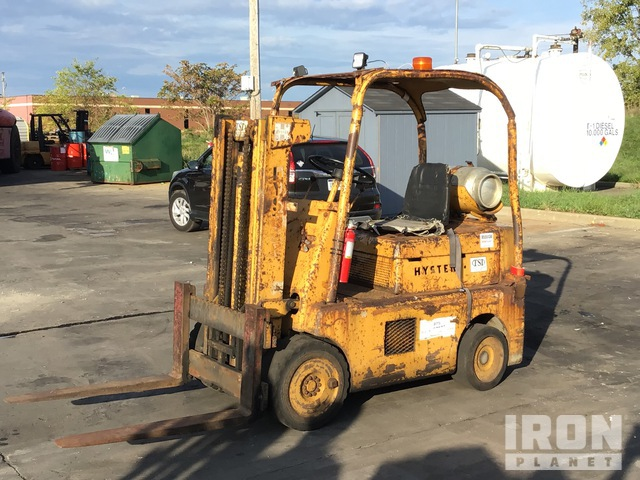 1973 Hyster S70B Cushion Tire Forklift, Forklift