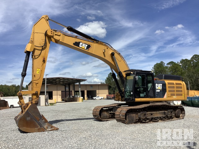 2014 Cat 349F L Track Excavator, Hydraulic Excavator