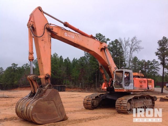 Hitachi EX700 Track Excavator in Savannah, Tennessee, United States