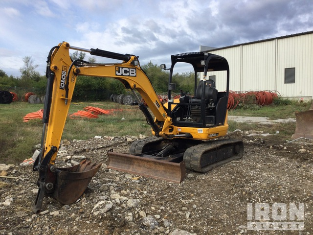 2015 (unverified) JCB 8040 ZTS Mini Excavator, Mini Excavator (1 - 4.9 Tons)