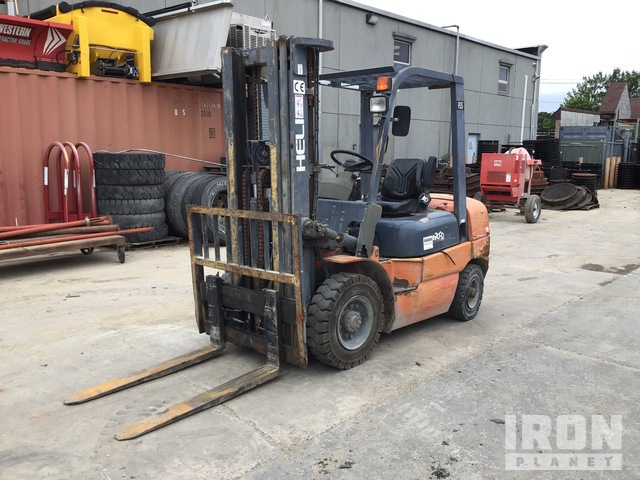 Heli CPCD25-FL5 4600 lb Pneumatic Tire Forklift, Forklift