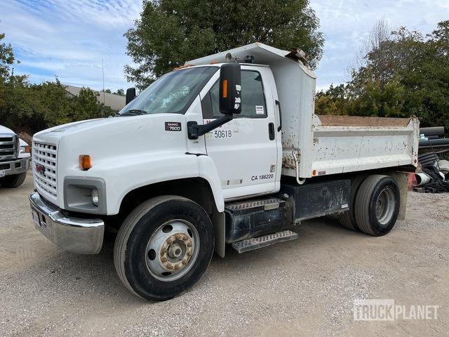 2007 GMC C7500 4x2 S/A Dump Truck, Dump Truck (S/A)