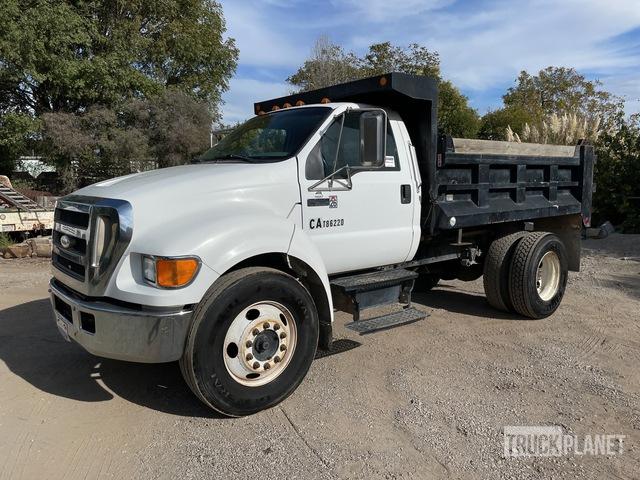 2007 Ford F-650 Super Duty 4x2 S/A Dump Truck, Dump Truck (S/A)