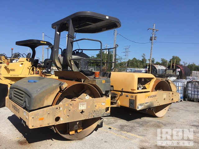 2014 Volvo DD140 Vibratory Double Drum Roller, Parts/Stationary Construction-Other