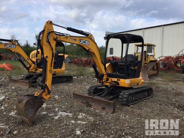 2015 (unverified) JCB 8035 ZTS Mini Excavator, Mini Excavator (1 - 4.9 Tons)