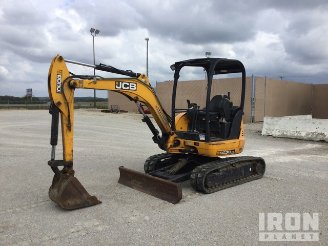 2011 JCB 8030ZTS Mini Excavator, Mini Excavator (1 - 4.9 Tons)