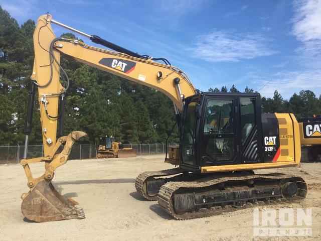 2019 Cat 313F L Track Excavator, Hydraulic Excavator
