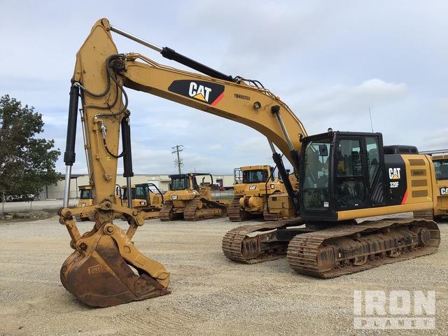 2017 Cat 320F L Track Excavator, Hydraulic Excavator