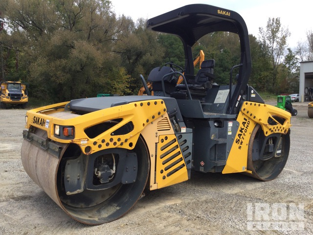 2015 (unverified) Sakai SW770ND Vibratory Double Drum Roller, Roller