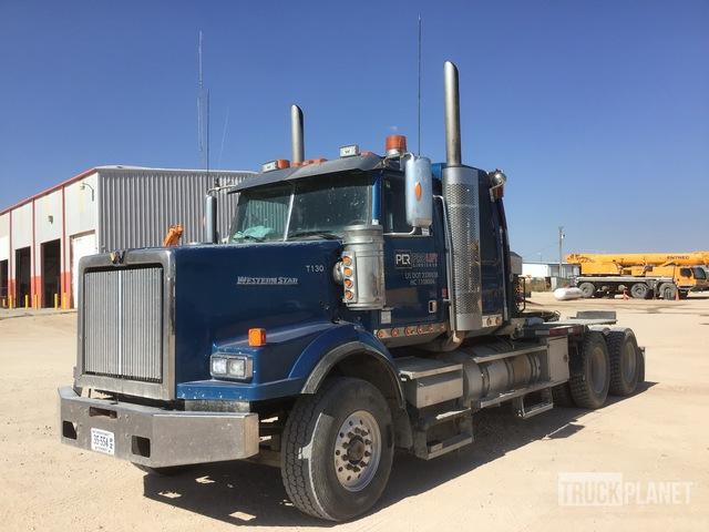2011 Western Star 4900SA 6x4 T/A Winch Truck, Winch Tractor