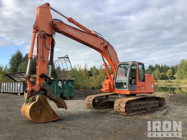 Hitachi ZX225USLC Track Excavator, Hydraulic Excavator