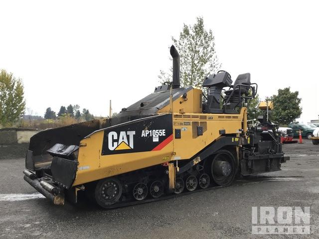 2012 Cat AP1055E Track Asphalt Paver, Asphalt Paver