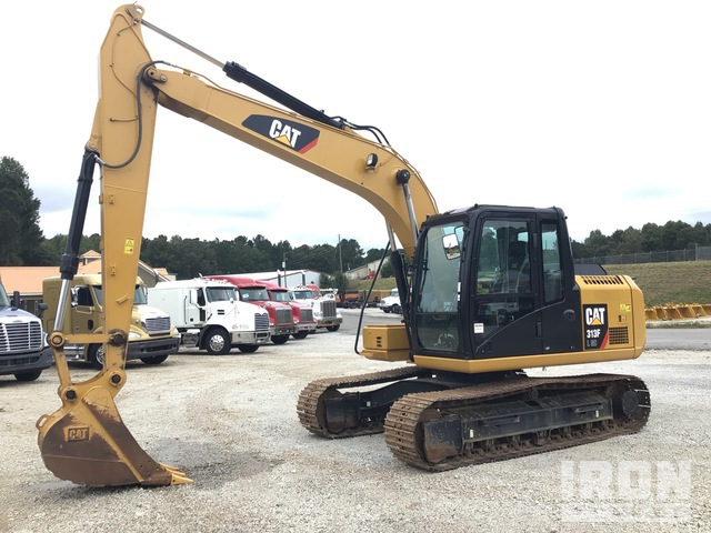 2018 Cat 313FLGC Track Excavator, Hydraulic Excavator