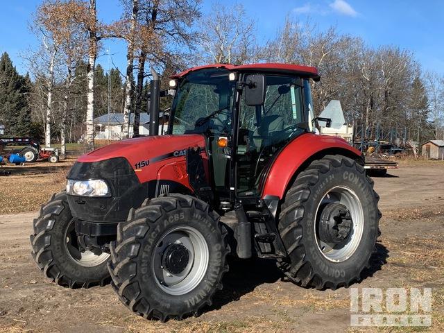 2013 Case IH Farmall 115U 4WD Tractor, MFWD Tractor