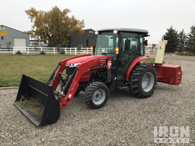 2015 (unverified) Massey Ferguson 1754 4WD Utility Tractor, Utility Tractor