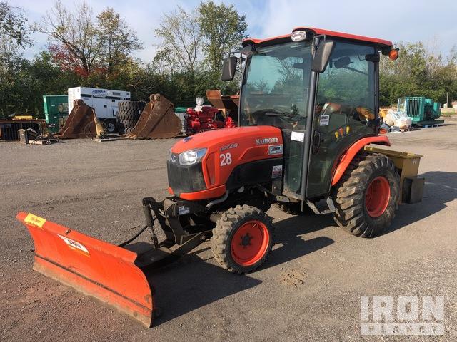 2018 (unverified) Kubota B2650HSD 4WD Utility Tractor, Utility Tractor