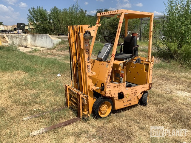 Hyster E25XL Electric Forklift, Electric Forklift