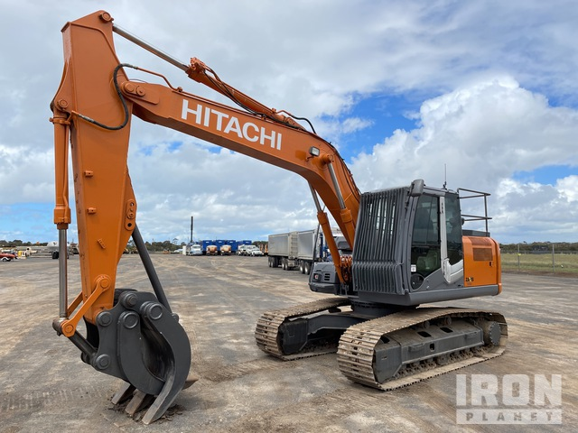 2009 Hitachi ZX160LC-3 Track Excavator, Hydraulic Excavator
