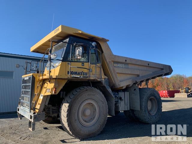2004 (unverified) Komatsu HD465-7 Off-Road End Dump Truck, Rock Truck