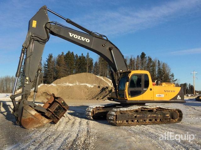 Volvo Ec290lc Track Excavator In Rocky Mountain House
