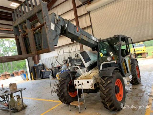 2008 Bobcat V638 Telehandler, Telescopic Forklift