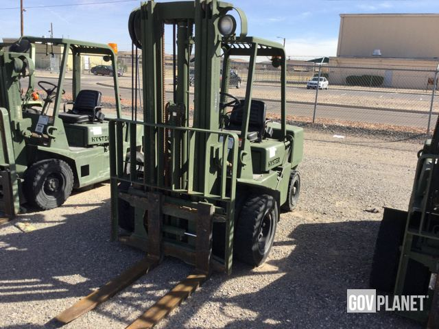 Surplus Hyster H60-XL-MIL Pneumatic Tire Forklift in El Paso, Texas