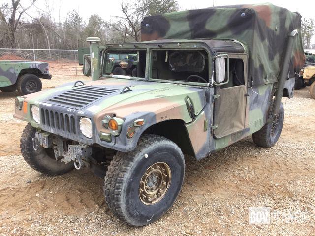 1999 Humvee 2 Door Pickup on