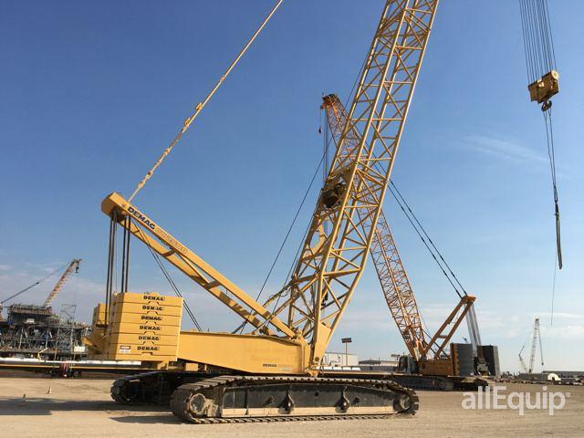 2001 (unverified) Demag CC2500 Lattice-Boom Crawler Crane in ...