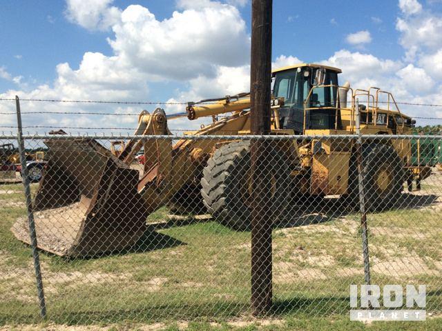 Cat 988g Wheel Loader Weslaco Texas Stany Zjednoczone